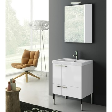 23 Inch Bathroom Vanity Set