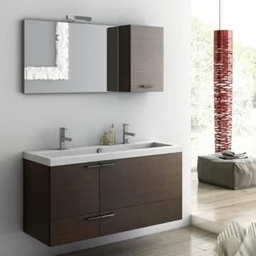 Inch Bathroom Vanity Set ACF ANS TheBathOutlet - 47 inch bathroom vanity for bathroom decor ideas