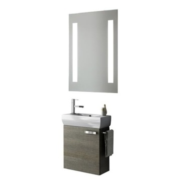 18 Inch Bathroom Vanity Set