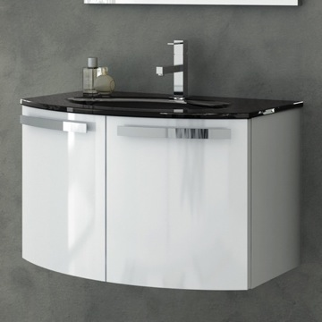 28 Inch Vanity Cabinet With Fitted Sink