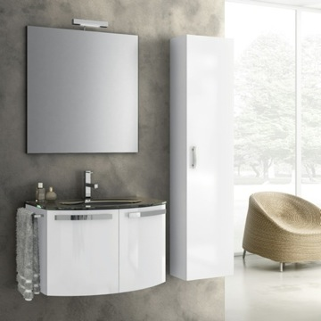 28 Inch Bathroom Vanity Set