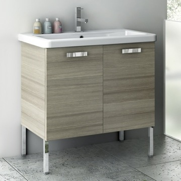 30 Inch Vanity Cabinet With Fitted Sink