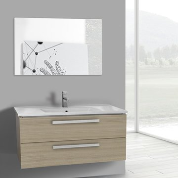 38 Inch Larch Canapa Bathroom Vanity Set