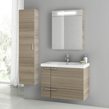 31 Inch Larch Canapa Bathroom Vanity Set