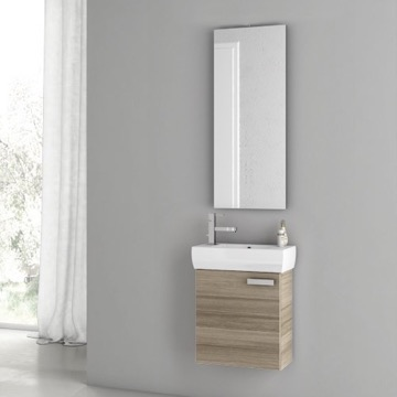 18 Inch Larch Canapa Bathroom Vanity Set