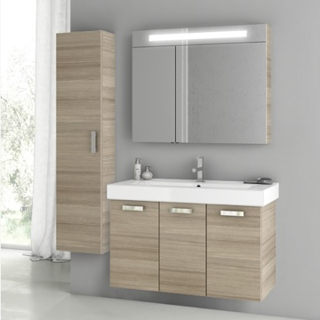 39 Inch Larch Canapa Bathroom Vanity Set