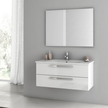 38 Inch Bathroom Vanity Set