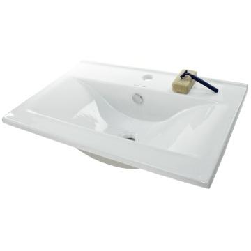 Bathroom Sinks Rectangular Drop In caracalla ca4583nameek's ceramica ii square white ceramic drop