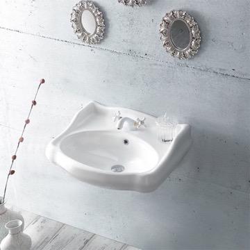 Bathroom Sink, CeraStyle 030200-U