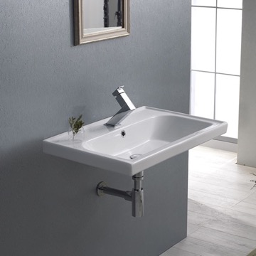 Bathroom Sink, CeraStyle 031000-U
