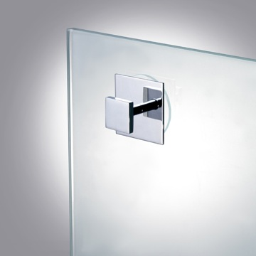 Suction Pad Robe or Towel Hook in Chrome, Gold Finish