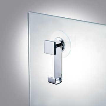 Suction Pad Hook in Chrome