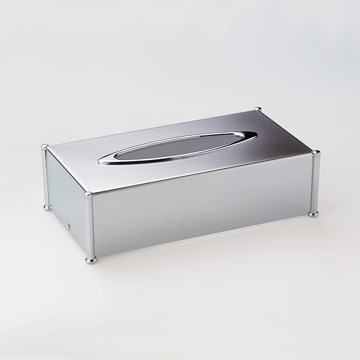Tissue Box Cover, Contemporary, Chrome,Gold,Satin Nickel,Chrome and Gold, Brass, Windisch Botique, Windisch 87106