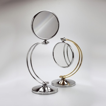 Makeup Mirror Contemporary Brass Magnifying Mirror 99127D Windisch 99127D