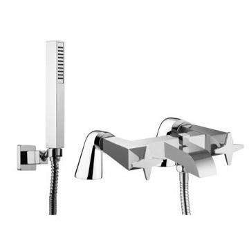 Deck Mount Tub Filler Deck Mounted Tub Faucet With Hand Shower Set S5554/5 Fima S5554/5