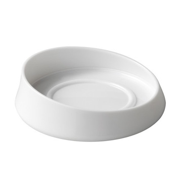 White Round Soap Dish