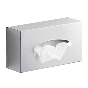 Tissue Box Cover, Contemporary, Chrome, Stainless Steel, Gedy Sector-Range, Gedy 2308-13