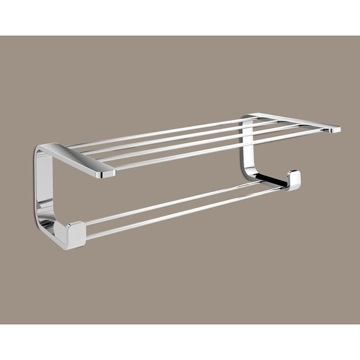 Train Rack Polished Chrome Towel Rack 3235-13 Gedy 3235-13
