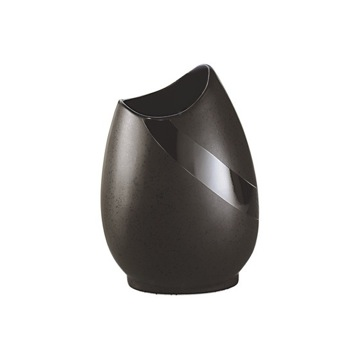 Round Moka Pottery Toothbrush Holder