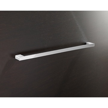 Towel Bar Square 24 Inch Towel Bar In Polished Chrome 5421-60-13 Gedy 5421-60-13
