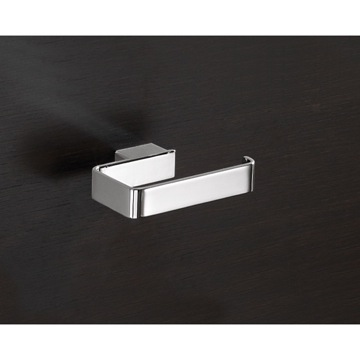 Square Polished Chrome Toilet Roll Holder 5424-13