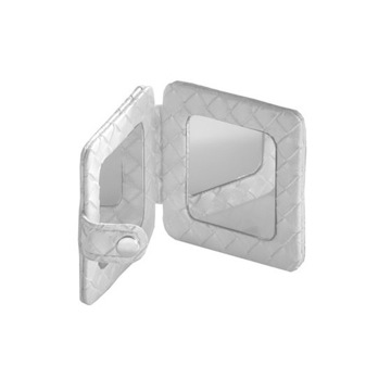 Hand Mirror Square Pocket Hand Mirror 6760 Gedy 6760