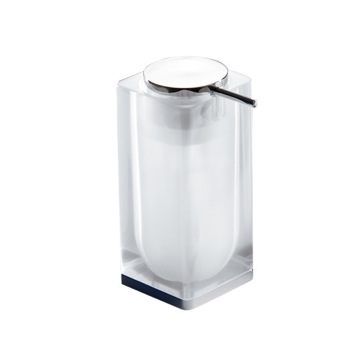 Transparent Square Counter Soap Dispenser