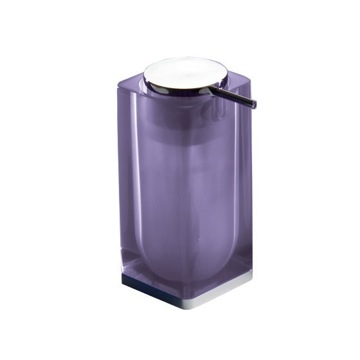 Lilac Square Counter Soap Dispenser