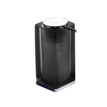 Black Square Counter Soap Dispenser