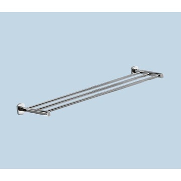 Towel Rack Polished Chrome 25 Inch Towel Shelf ED44-13 Gedy ED44-13