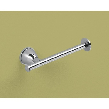 Toilet Paper Holder, Contemporary, Chrome, Steel,Cromall, Gedy Genziana, Gedy GE24-13