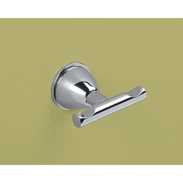 Bathroom Hook Chrome Double Hook GE26-13 Gedy GE26-13