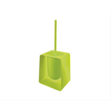 Square Green Toilet Brush Holder