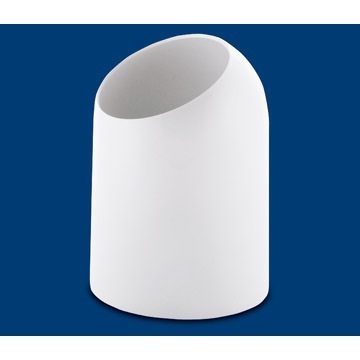 Waste Basket Round White Waste Bin 2009-02 Gedy 2009-02