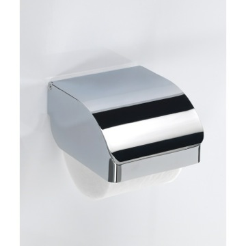 Toilet Paper Holder, Contemporary, Chrome, Stainless Steel Cromall, Gedy Hotel, Gedy 2525-13