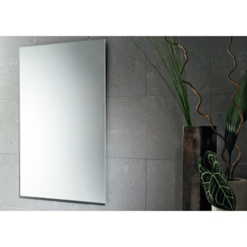 Vanity Mirror Vertical or Horizontal Polished Edge Mirror 2540-13 Gedy 2540-13