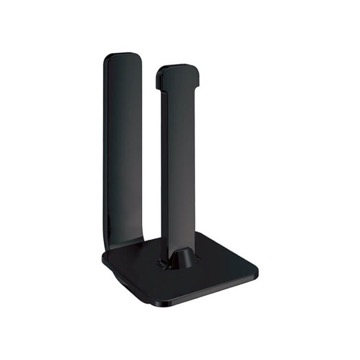 Matte Black Vertical Toilet Paper Holder