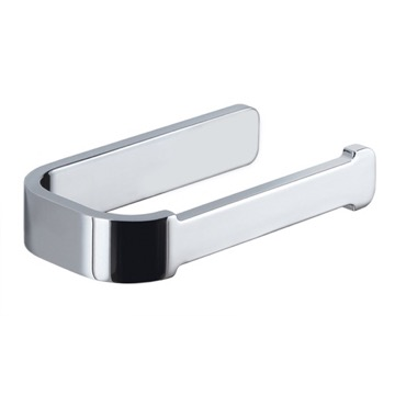 Horizontal Chrome Toilet Paper Holder