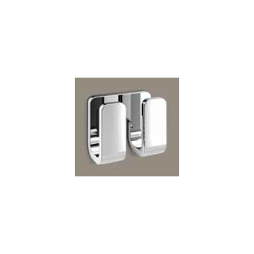 Bathroom Hook Modern Chrome Double Robe Hook 3228-13 Gedy 3228-13