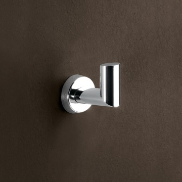 Bathroom Hook Polished Chrome Hook 3726-13 Gedy 3726-13