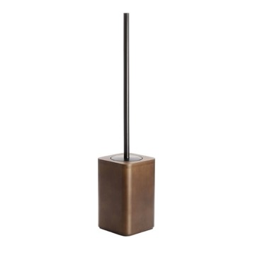 Walnut Floor Standing Toilet Brush