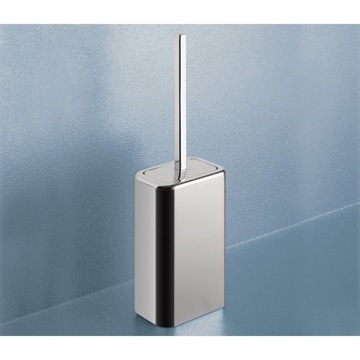 Polished Chrome Toilet Brush Holder