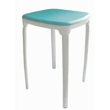 Rounded Square Stool With Multiple Finishes