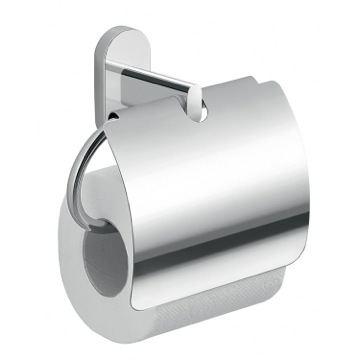 Chrome Toilet Paper Holder With Cover