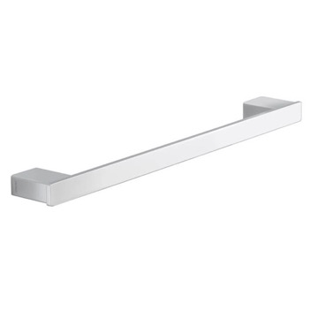 Square 18 Inch Towel Bar In Polished Chrome