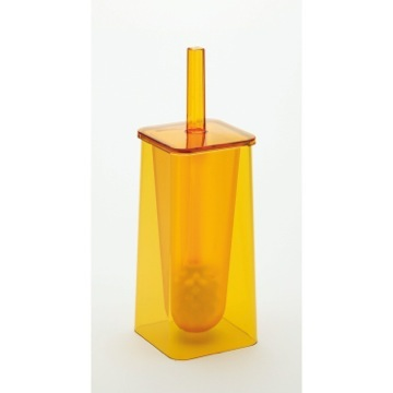 Trendy Yellow Toilet Brush Holder