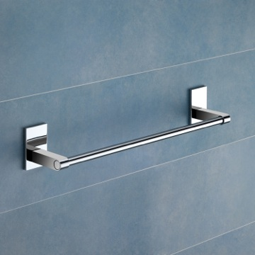 14 Inch Polished Chrome Towel Bar