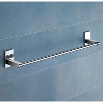 Towel Bar 24 Inch Polished Chrome Towel Bar 7821-60-13 Gedy 7821-60-13