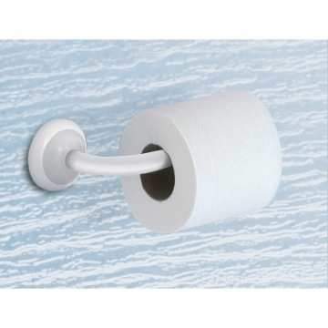 Toilet Paper Holder, Contemporary, White, Brass, Gedy Jamaica, Gedy 8224-02