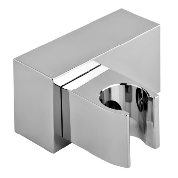 Shower Bracket With Adjustable Fastening In Chromed ABS
